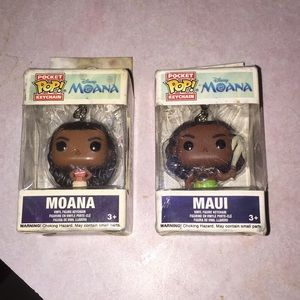 Pop Funko pocket keychains Disney Moana set 2